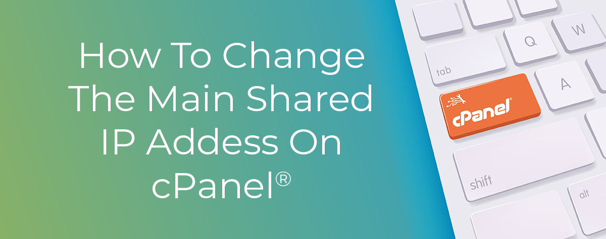 Change Shared IP